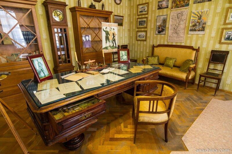 Кабинет отца Чижевского, дом-музей Чижевского, Калуга