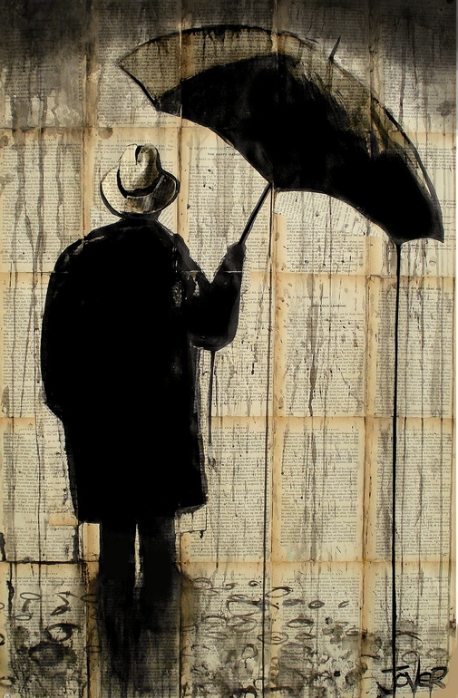 Pen and Ink Drawings on Vintage Book Pages – Loui Jover (11 pics)