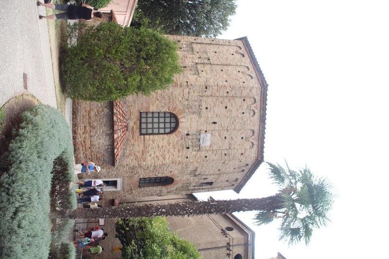 Равенна. Два баптистерия и два собора.