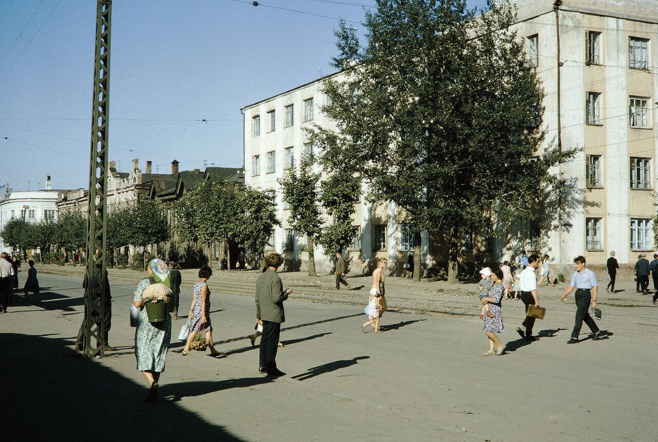 Угол улиц Тимирязева и Байкальской
