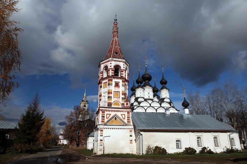 Суздаль - Церковь Лазаря Четверодневного