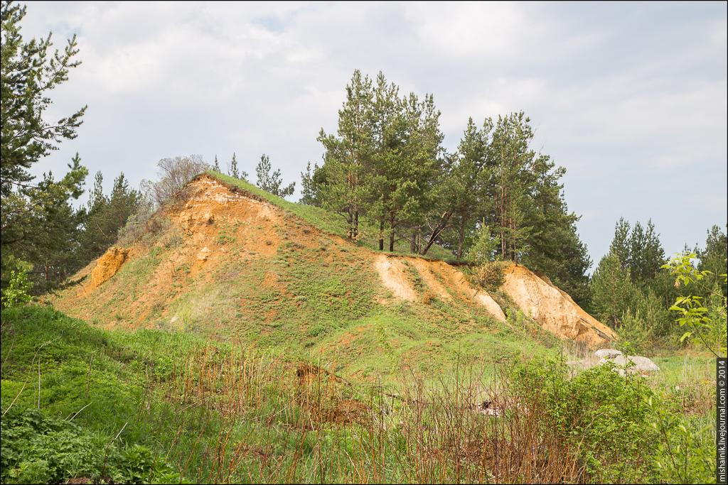 Рудник «Ветка» Алапаевского железорудного месторождения