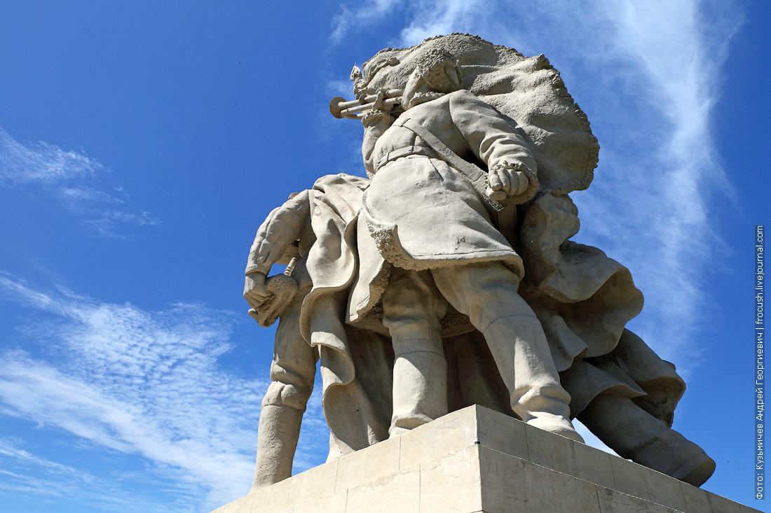 Пятиморск монумент «Соединение фронтов»
