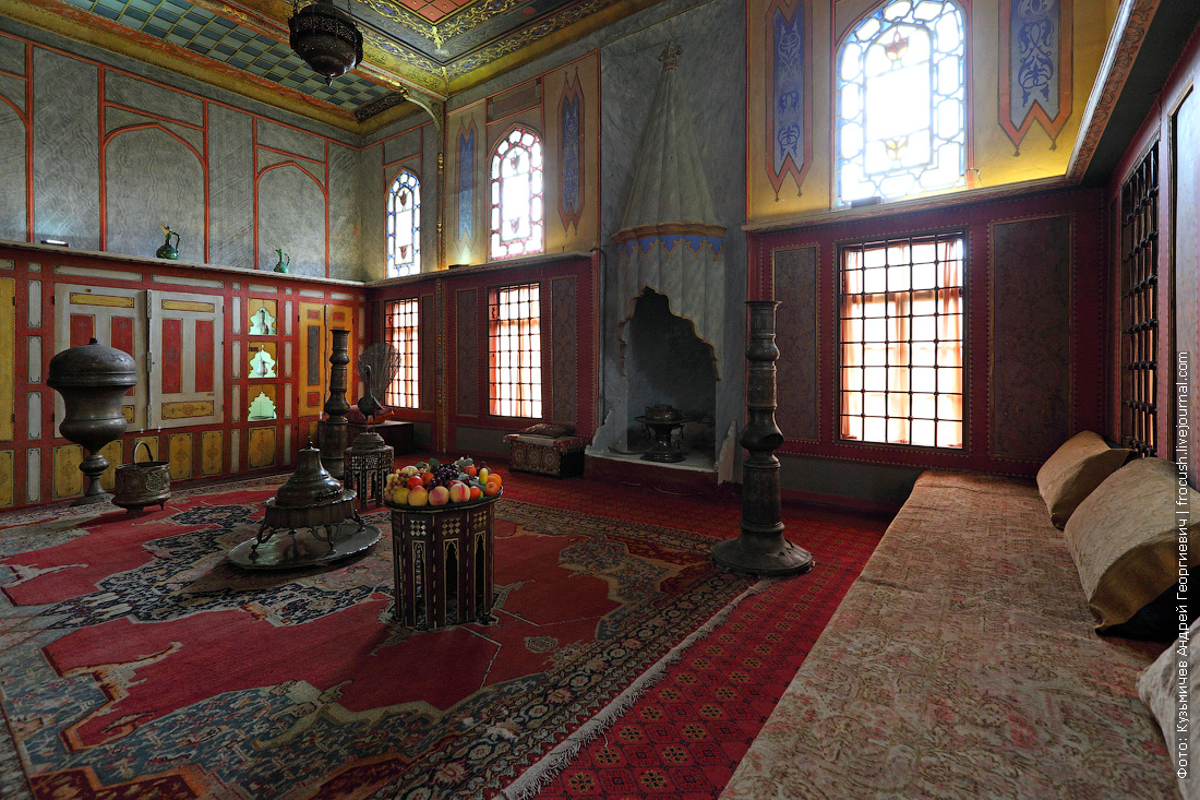 Гостиная гарема Крым Ханский дворец