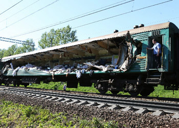 Обвиняемый в столкновении поездов работник РЖД арестован