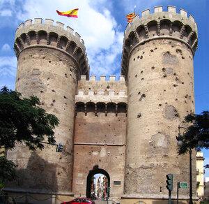 Башни де Кварт в Валенсии
