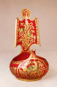 Роспись Шекснинская золочёнка на современных изделиях