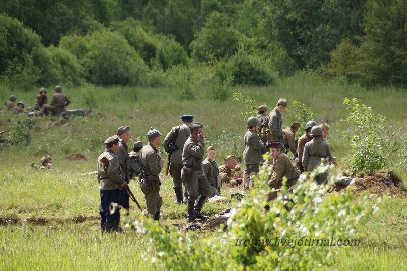 Перед боем. 22 июня, реконструкция начала ВОВ в Кубинке (2 часть)