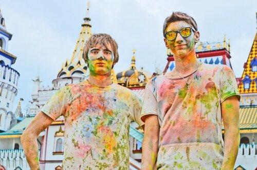 Праздник красок в Москве