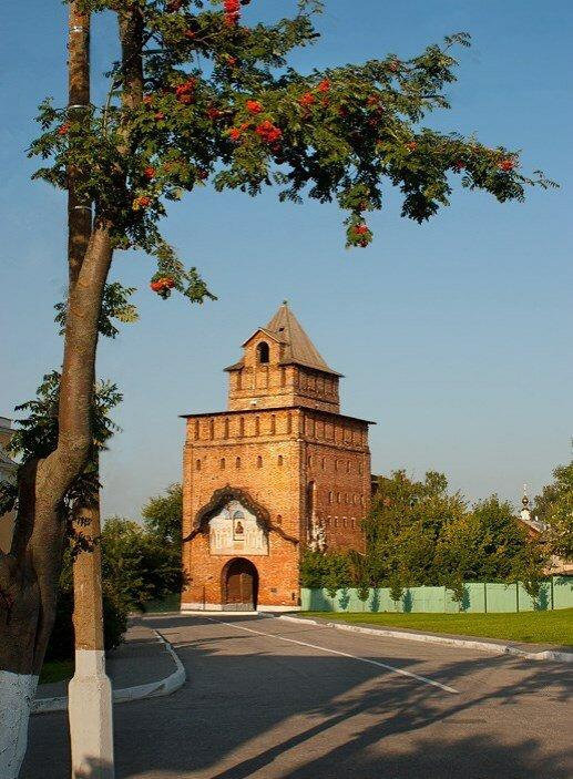 Парк Коломенское в Москве - Пятницкие ворота