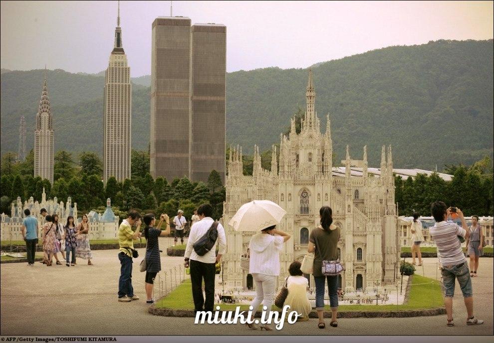Знаменитые строения мира в масштабе 1:25