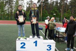 Чемпионат и первенство города Заречного по легкой атлетике. 19.05.2015