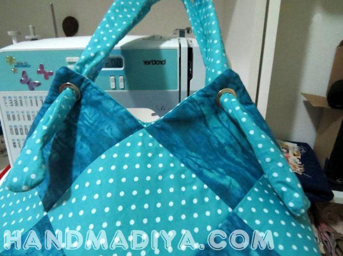 Красивая сумка – мешок. Bag - sack