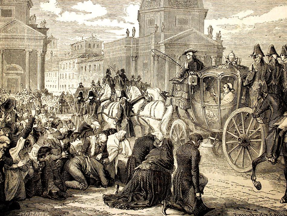 60 Regreso de Pio VII a Roma Возвращение Пия VII в Рим.jpg