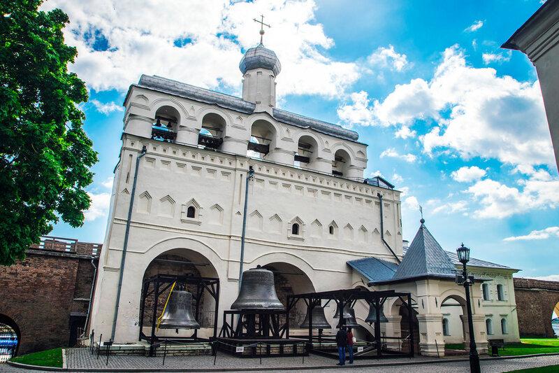 Звонница Софийского собора