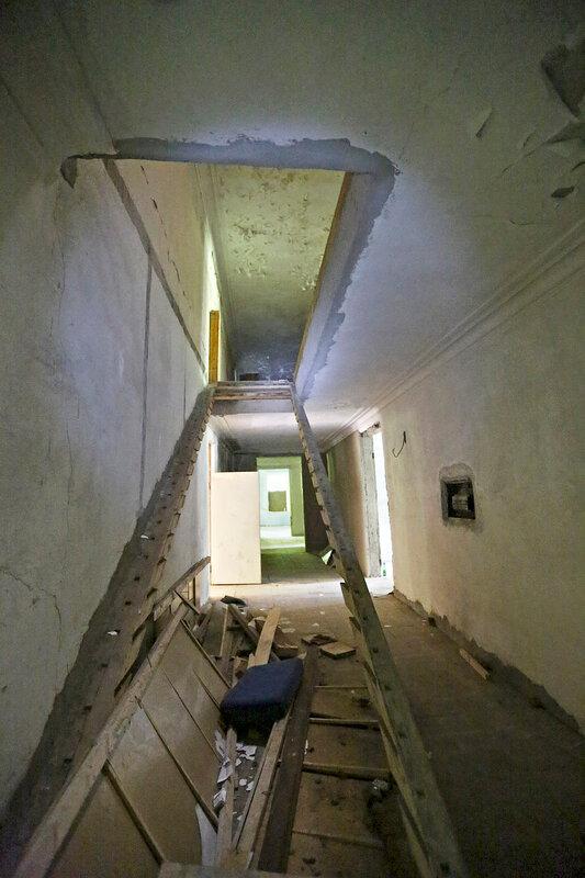 Разобранная лестница