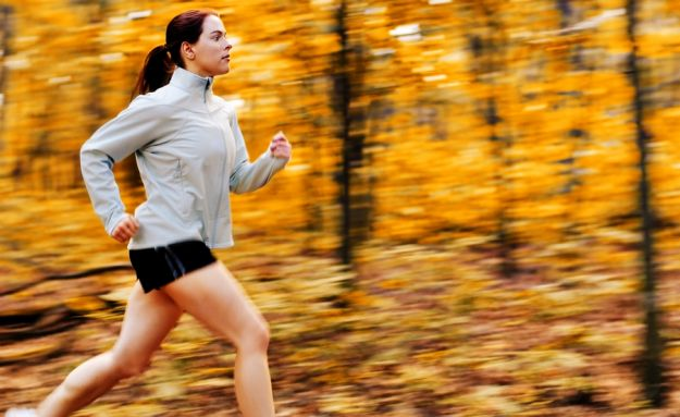 бег после тренировки
