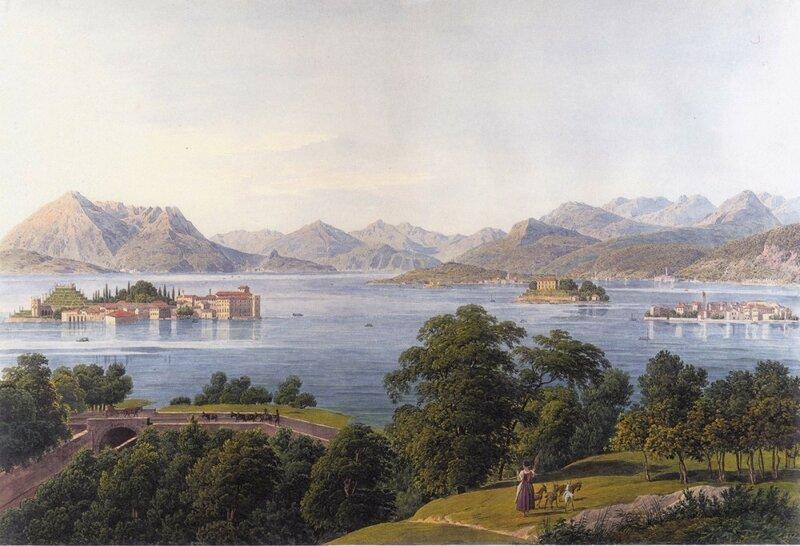 Вид на озеро Маджоре