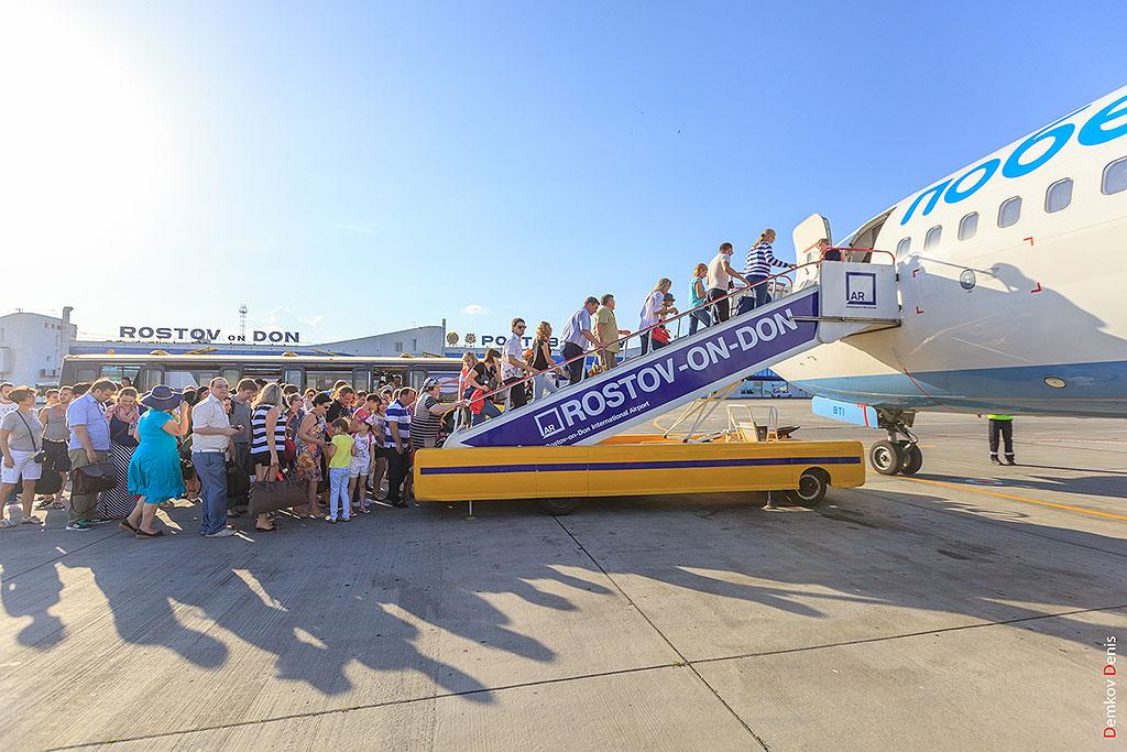 Ростовский аэропорт обслужил за I полугодие 2015 года почти 1 млн пассажиров