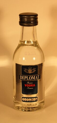 Водка Diplomat Russian Vodka Premium Classic