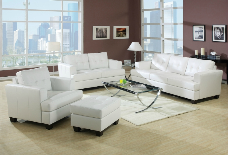 Белый цвет в интерьере гостиной, фото 24