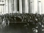 Молебен по случаю открытия Второй Государственной Думы в колонном зале Таврического дворца.