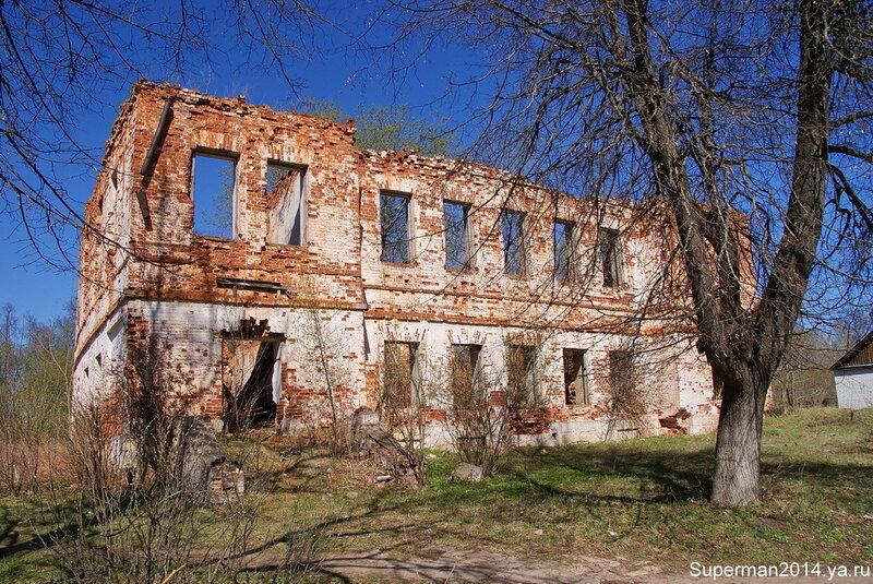 Гусь-Железный - усадьба Баташева