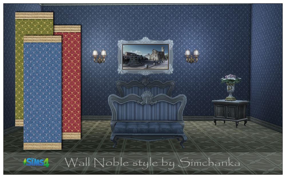 Wall Noble style by Simchanka