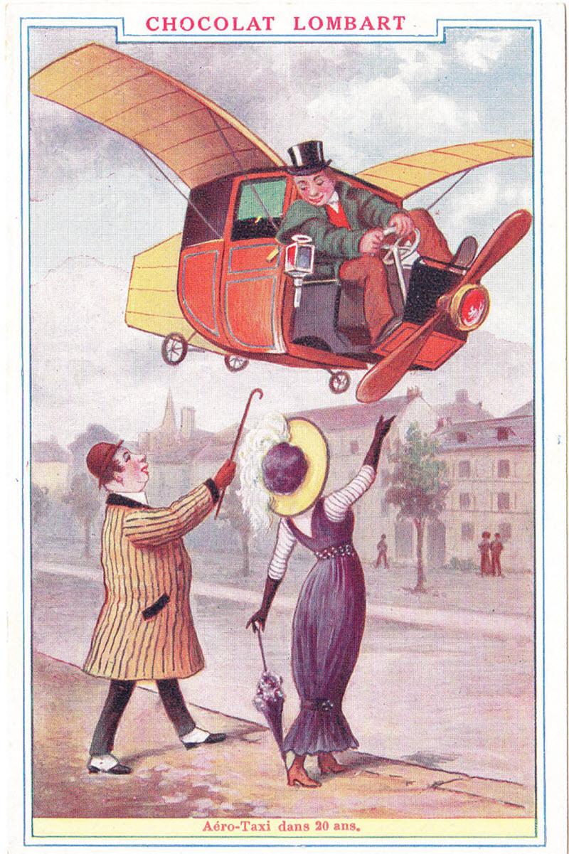 картинка из старого журнала про будущие сайта