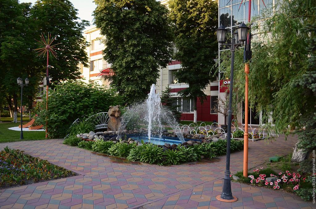 фонтан Белагромаш-сервис, Белгород, фото Sanchess