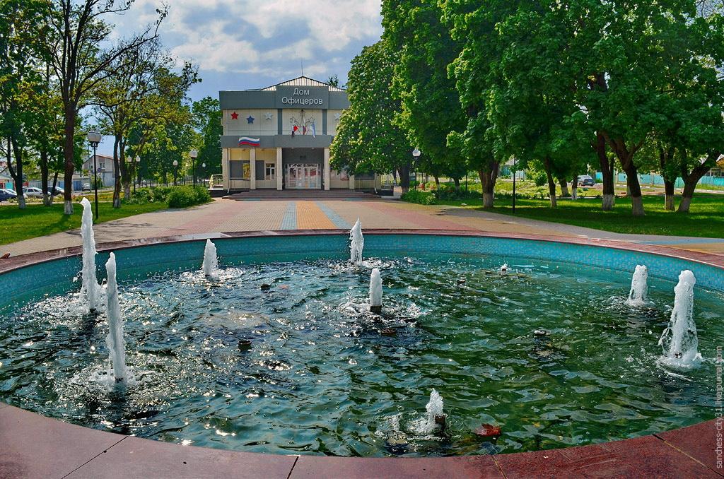 фонтан на Соколе, Белгород, фото Sanchess