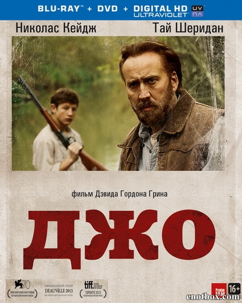 Джо / Joe (2013/BD-Remux/BDRip/HDRip)