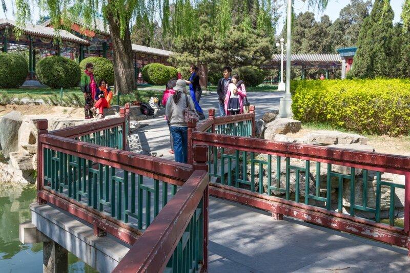 Мост, парк Чжуншань гунъюань, Пекин