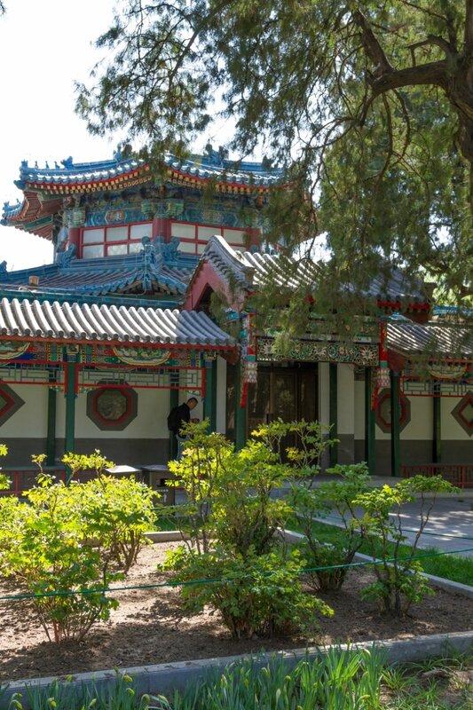 Оранжерея, парк Чжуншань гунъюань, Пекин