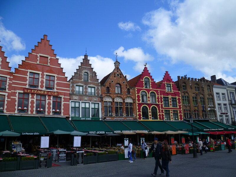 Брюгге, площадь Маркт (Bruges Markt)