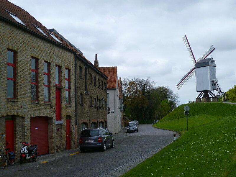 Мельницы в Брюгге (Mills in Bruges)