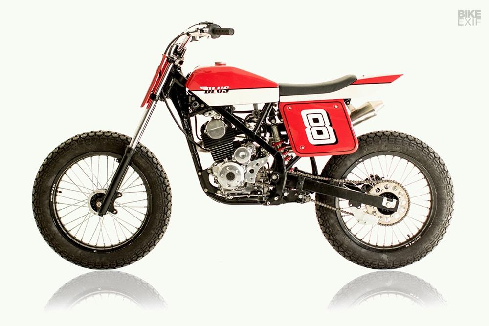 Deus Bali: пляжный трекер Kawasaki KLX150