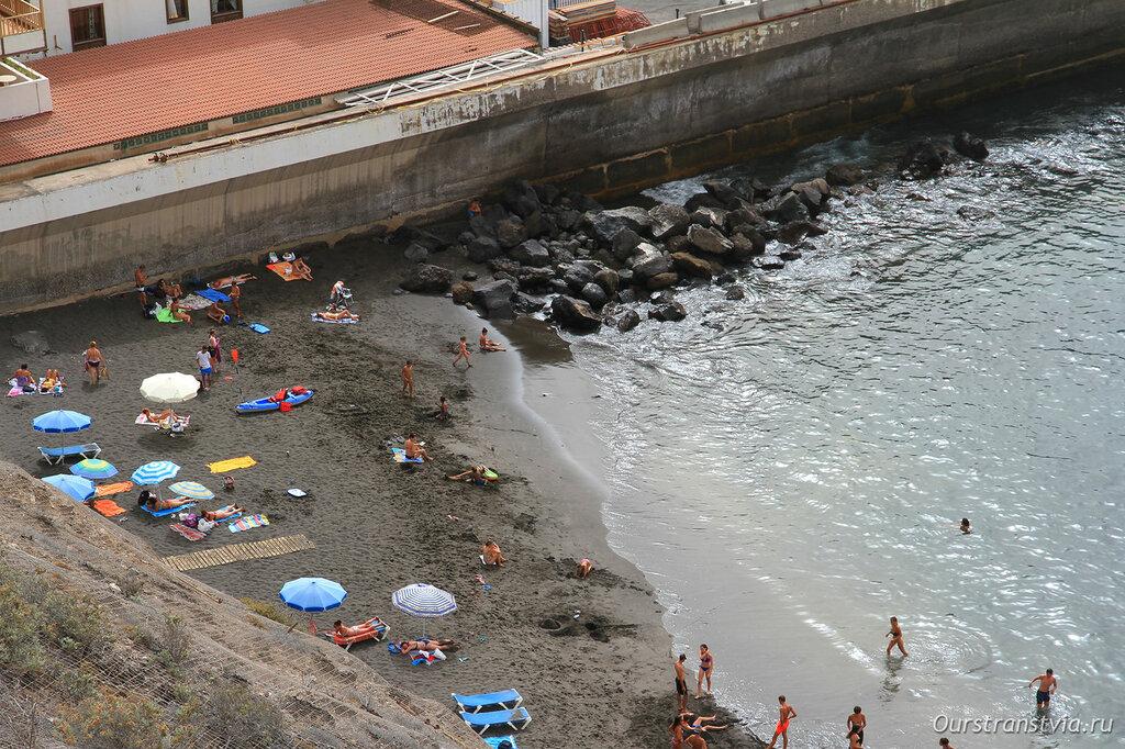 Пляж Лос Гигантес - Лос Гуйос
