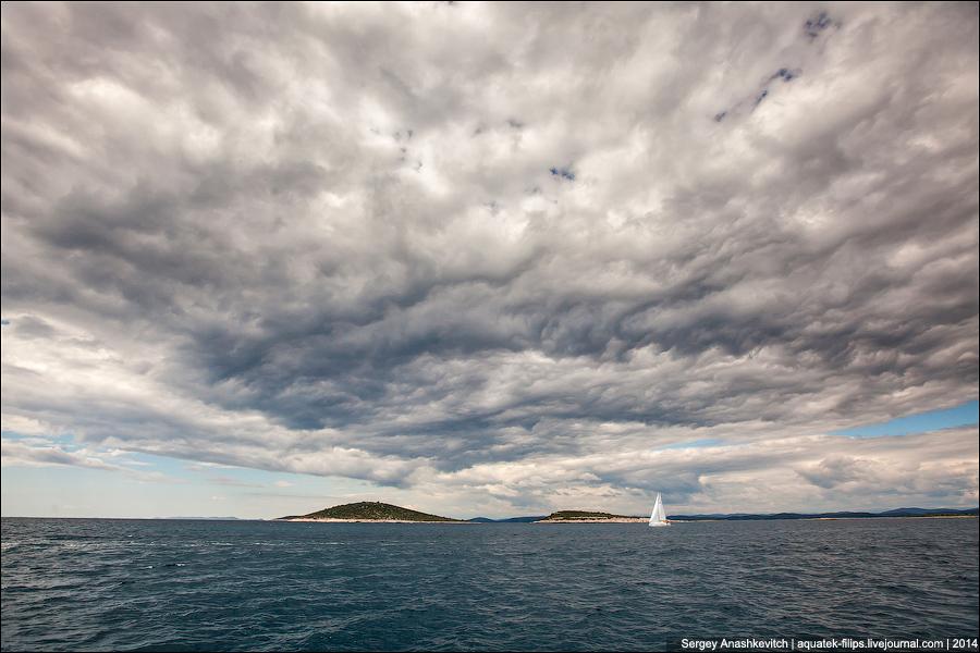 Небо и паруса