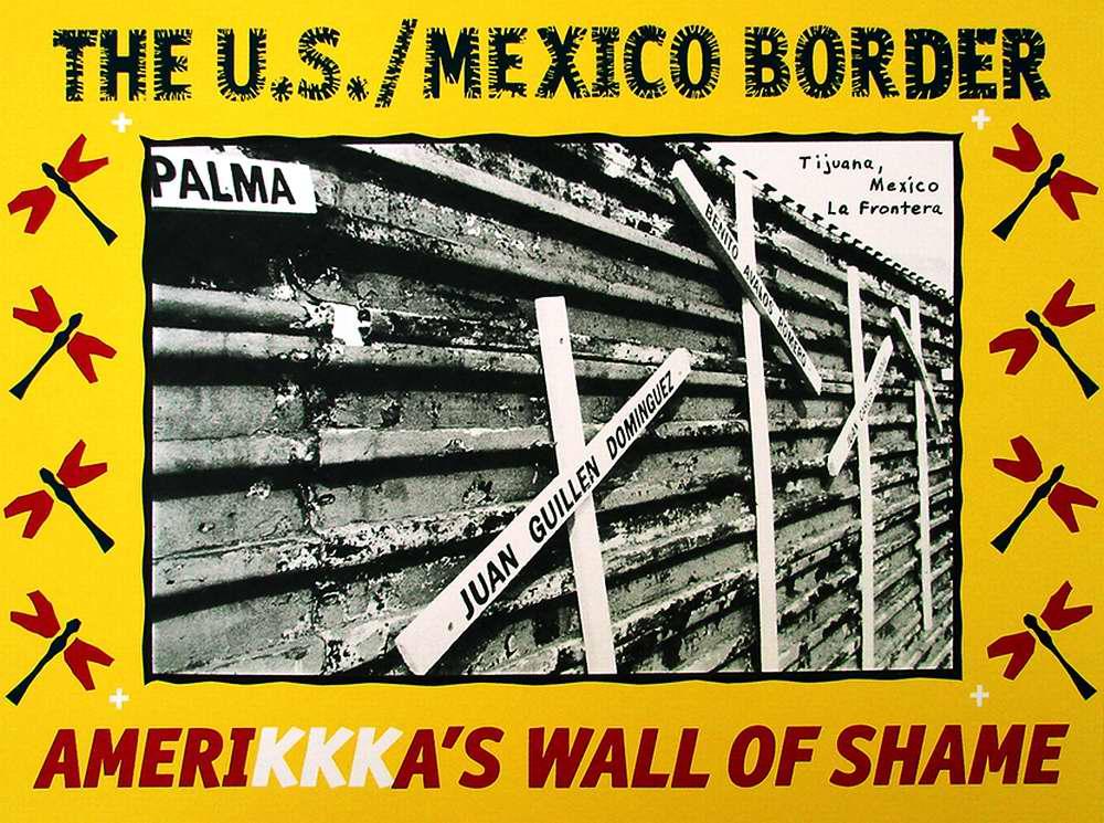 Американская стена позора (Francisco Dominguez)