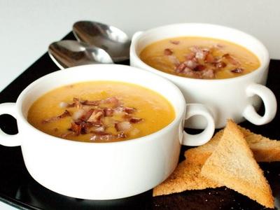 Суп гороховый с беконом
