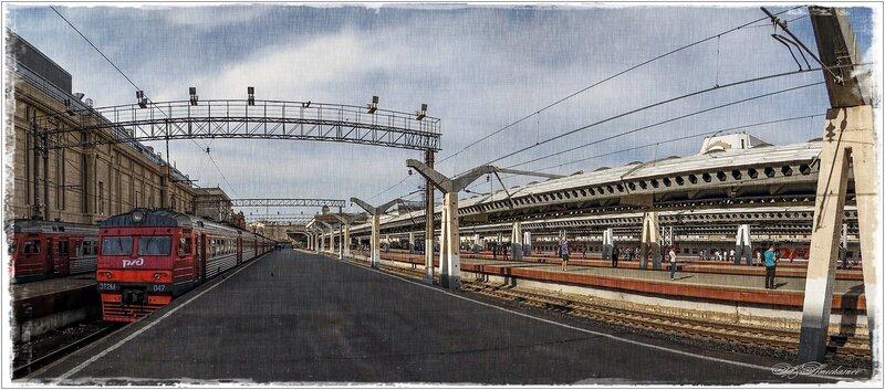 Московский вокзал СПБ.