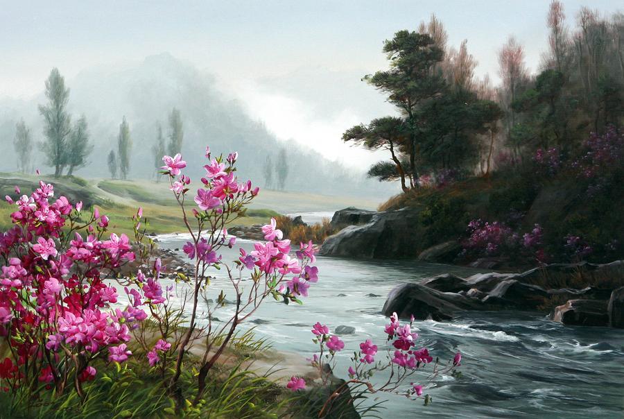 Корейский художник kang jung ho