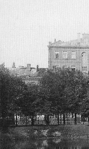 Патриаршие пруды. Фрагмент. 1913 г.