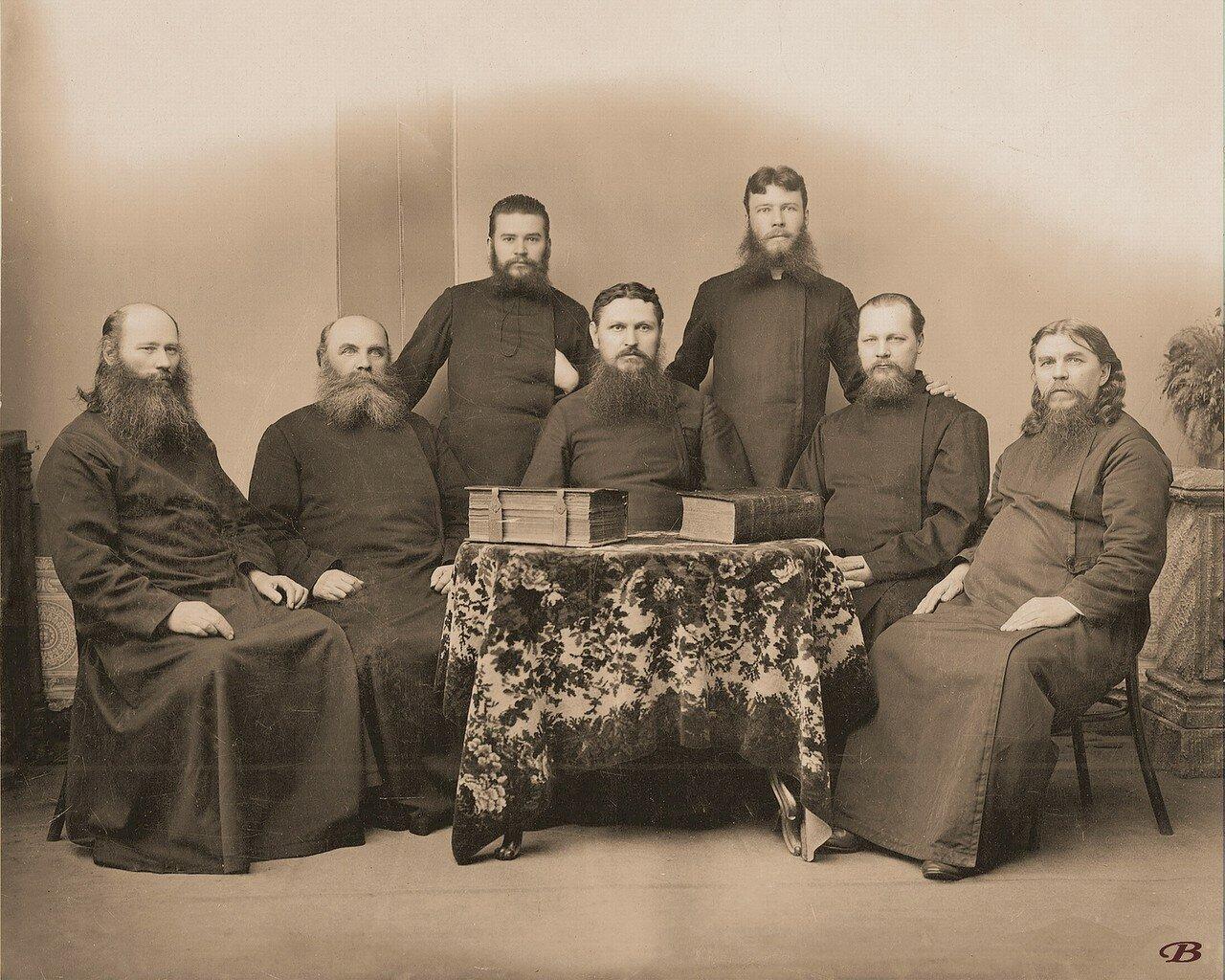 Группа старообрядческих деятелей в Егорьевске