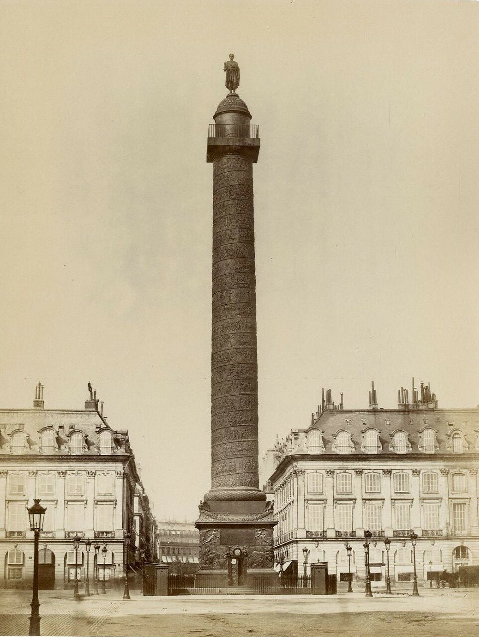 1880-е. Вандомская колонна
