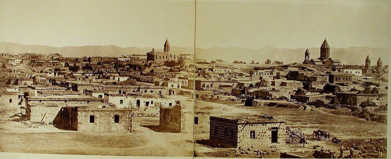 Вид на город; справа на втором плане - Армянский собор