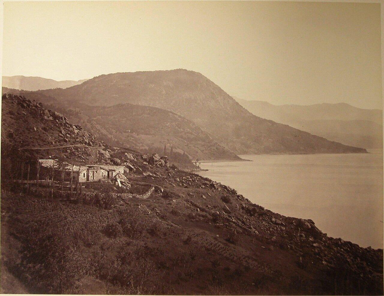41. Вид на Костыль-гору у деревни Кучук-Ламбат