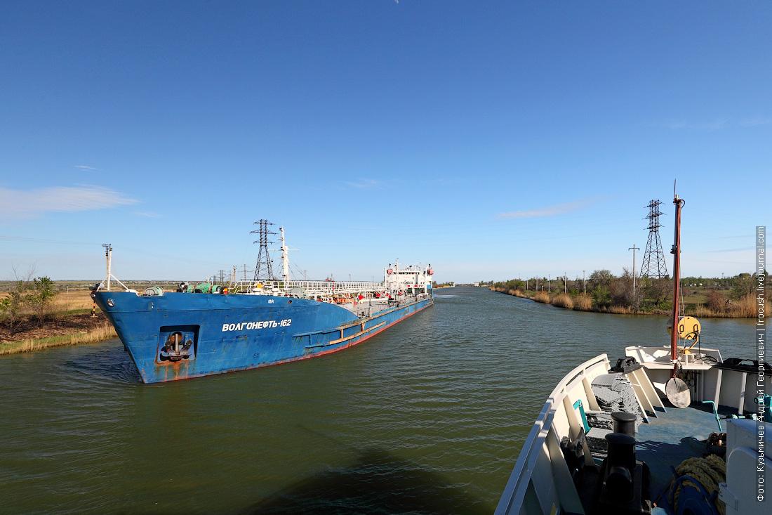 От Волги к Дону танкеры идут полностью загруженными