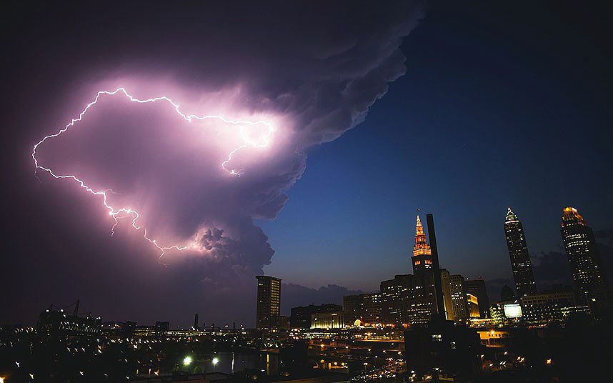 cleveland lightning